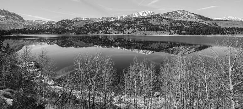 June Lake Black and White by Robert  Aycock