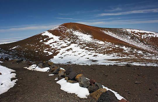 Venetia Featherstone-Witty -  Snowfall on Mauna Kea Volcanoes National Park