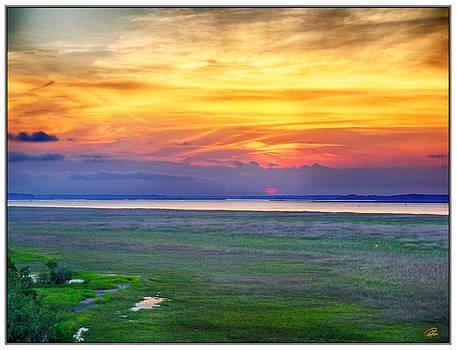 June Sunset by Gordon Fritz