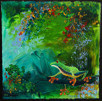 Jungle Rains II by Tracy L Teeter