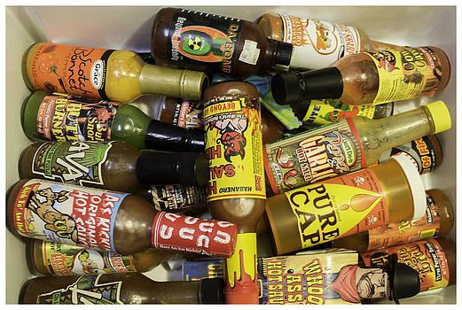 Junk Drawer Hot Sauce 401 by Ronald Schafer