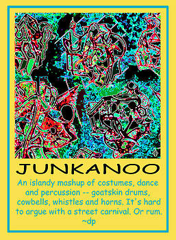 Junkanoo Poster by Doug Petersen