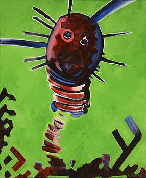 Junko the Tomato Worm by Anguspaul Reynolds