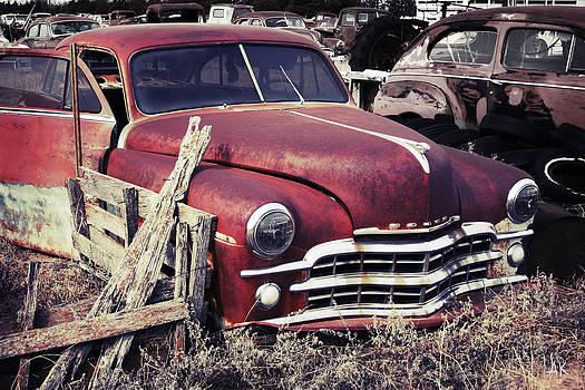 Junkyard Car by Andrea Kelley