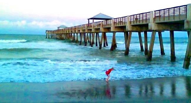 Juno Beach FL by Brian Hubmann