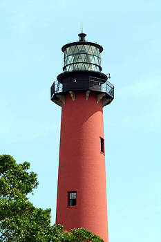Jupiter Inlet Lighthouse by April Wietrecki Green