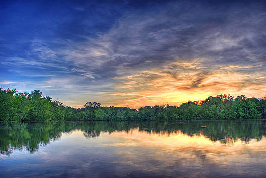 Jurassic Sunset by Perry Harmon