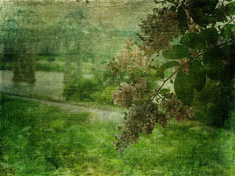 Terry Eve Tanner - Just a Peek in Green