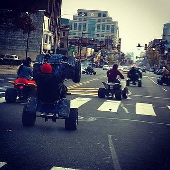 Just A Sunday Stroll Down #broad #philly by Dan  Diamond