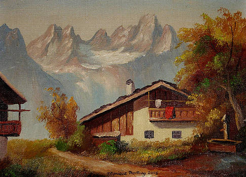 Monique Montney - Just Another Mountain Scene