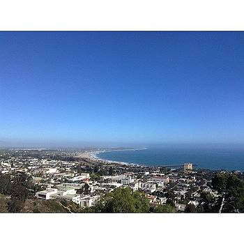 Just Another View Of Ventura! Love by Maureen Bates