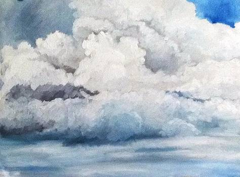 Just clouds by Aditi Bhatt