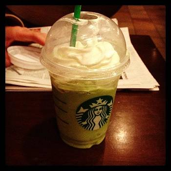 Just Discovered Green Tea Frappuccino! by Colleen Callais