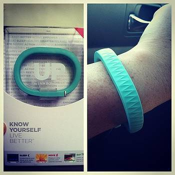 Just Got My New #jawbone #upband! Very by Stacy C