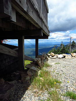 Just off the tram at Cannon Mountain by Jen Seel