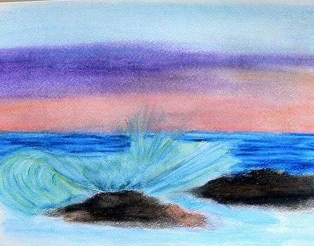 Just splashin around by Tony Clark