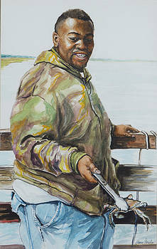 Just used a string and some bait... by Sharon Sorrels