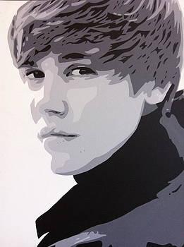 Justin Bieber by Siobhan Bevans