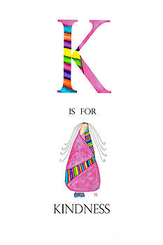 K is for Kindness by Emily Lupita Studio