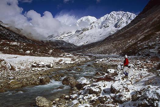 Colin Monteath - Kabru Peak Winter Himalaya India