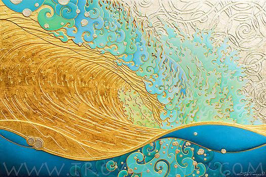 Kaihalulu roaring sea by Troy Carney