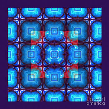 Kaleidoscope Combo 10 by Louise Lamirande