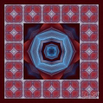 Kaleidoscope Combo 8 by Louise Lamirande