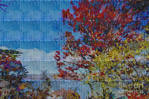 Beverly Claire Kaiya - Kaleidoscopic Autumn Scene II