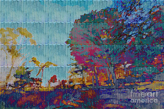 Beverly Claire Kaiya - Kaleidoscopic Autumn Scene III