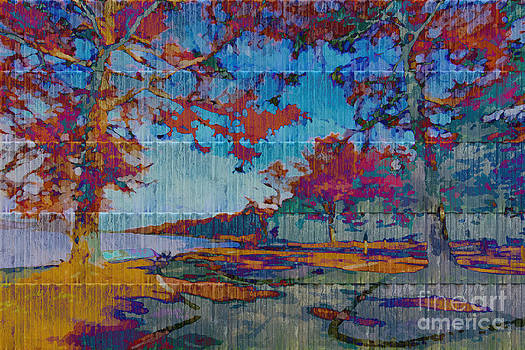 Beverly Claire Kaiya - Kaleidoscopic Autumn Scene IV