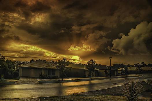Kallangur Storm by Peter Lombard