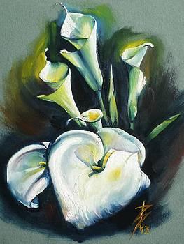 Kalos The Calla Lily by Alessandra Andrisani