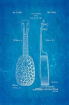 Ian Monk - Kamaka Ukulele Patent Art 1928 Blueprint