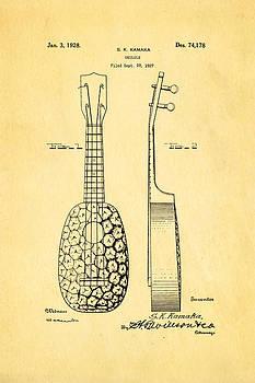 Ian Monk - Kamaka Ukulele Patent Art 1928