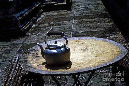 Kampuchea Tea Pot by Scott Shaw