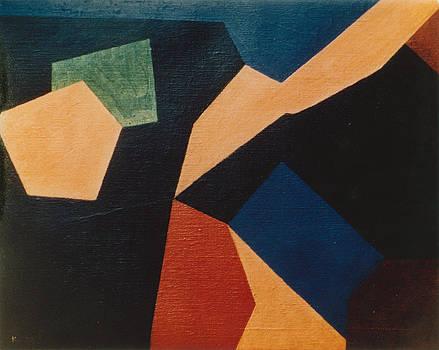 Kandinsky Homage 1972 by Karl Leonhardtsberger