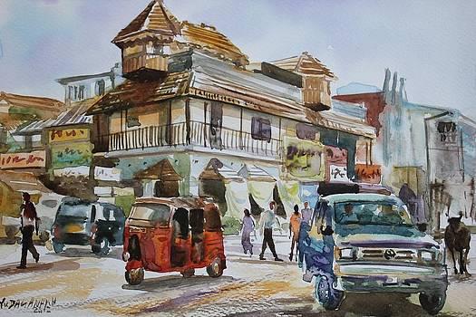 KANDY cityscape by Rohitha Yudaganawa
