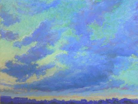 Kannapolis Sunset by Regina Calton Burchett