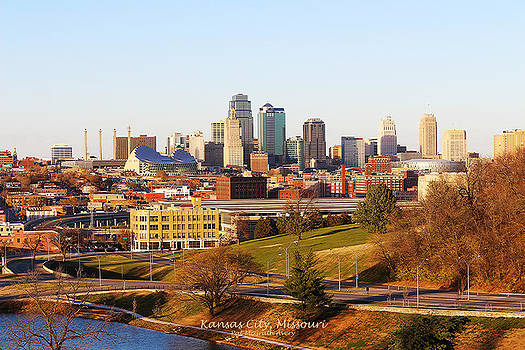 Kansas City Skyline by Pat McGrath Avery