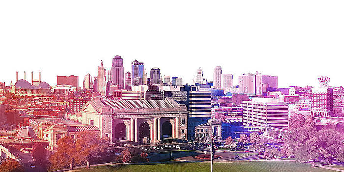 Kansas City Skyline by Stacia Blase