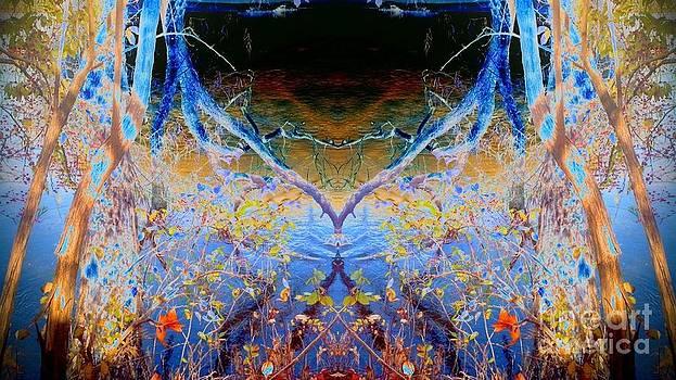 Kansas River Fantasy by Karen Newell