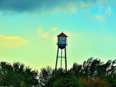 Kansas Water Tower by Jeremy Johnson