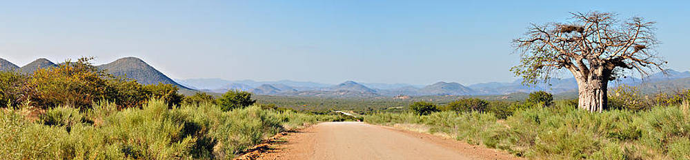 Kaokoland panorama by Grobler Du Preez