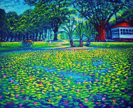 Kapiolani Park Circa 1933 by Joseph   Ruff