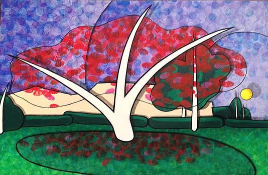 Kapok Tree in Bloom by Jason Charles Allen
