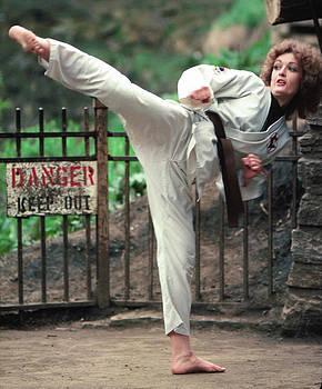 Karate Woman by Lonnie Paulson
