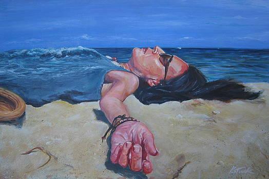 Karen and the sea by Katharine Turk-Truman