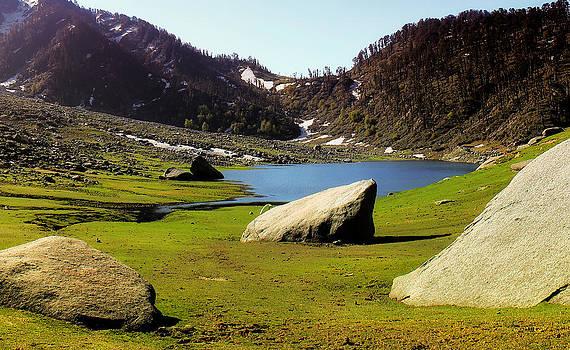 Kareri Lake  by Vishal Kumar