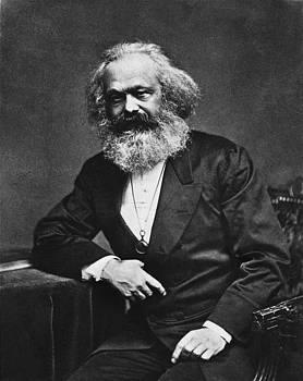 Karl Marx by Gabriel  Palcic