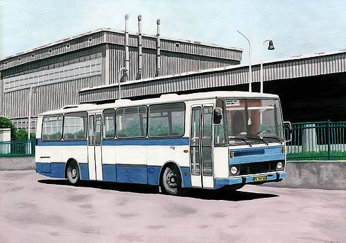 Karosa C734 by Milan Surkala